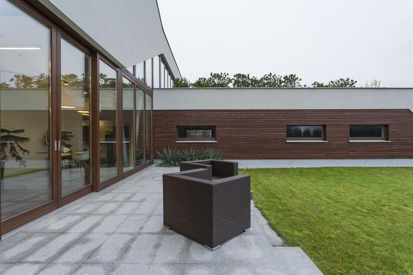 rivestimento facciata in legno