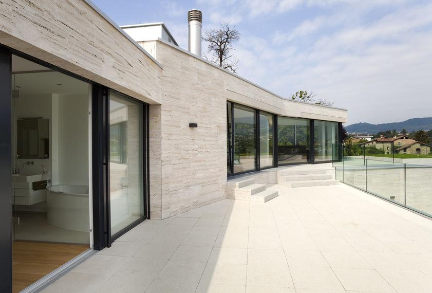 rivestimento facciata in marmo