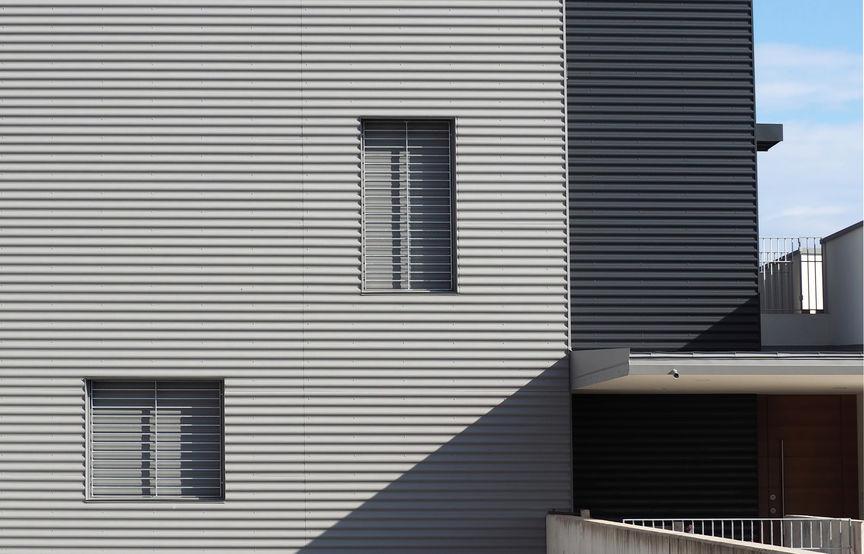 installazione alluminio facciata