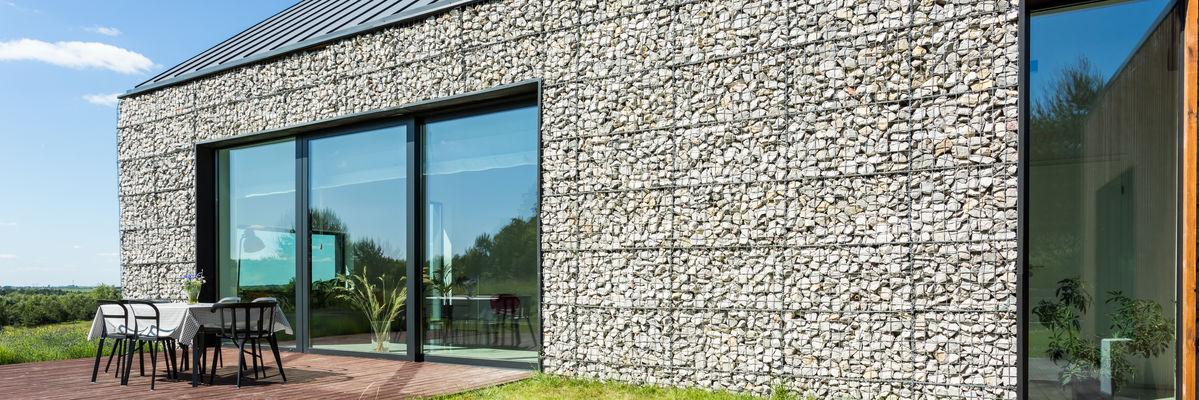 rivestimento facciata in pietra
