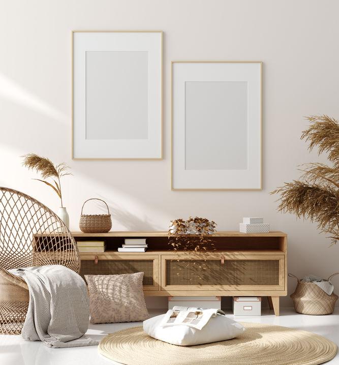 Arredare casa con materiali naturali e colori neutri