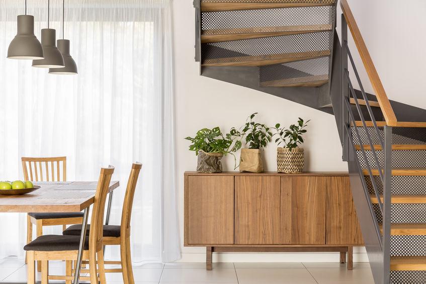 Sottoscala: spazio free per mobili multifunzionali