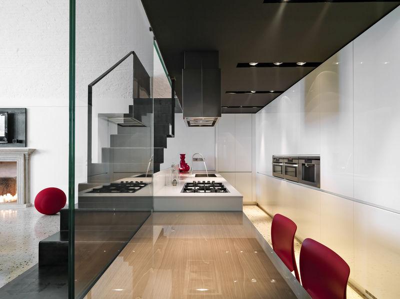 Sottoscala per mobili cucina su misura