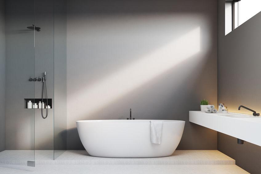 Nicchia in bagno: efficiente nella doccia