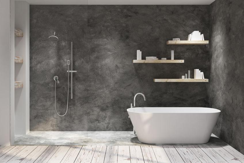Bagno: nicchia funzionale nella doccia