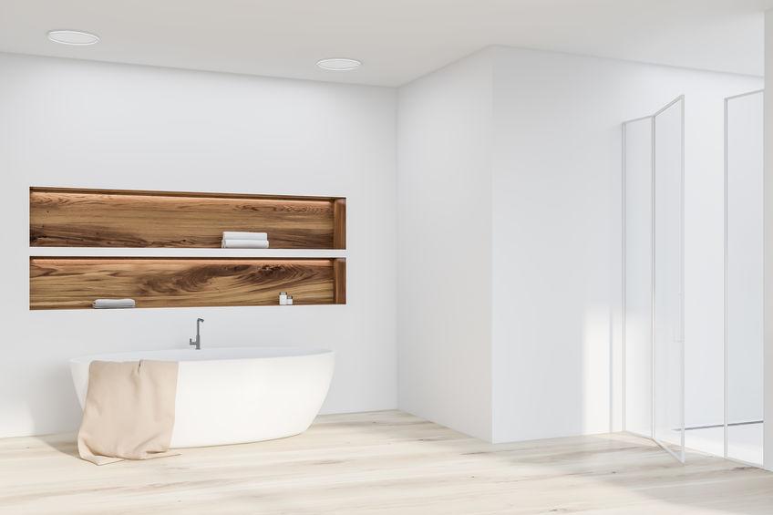 Bagno: nicchia efficiente sulla vasca