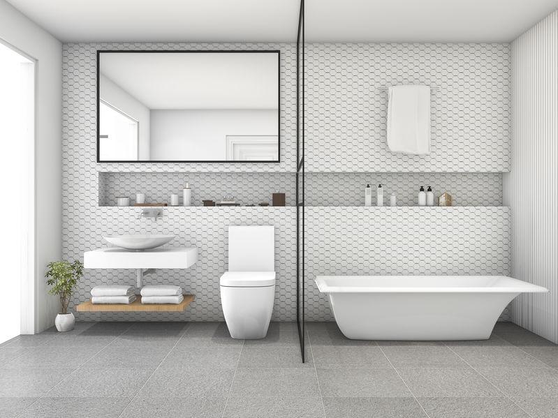 Nicchia in bagno: soluzione pratica e funzionale