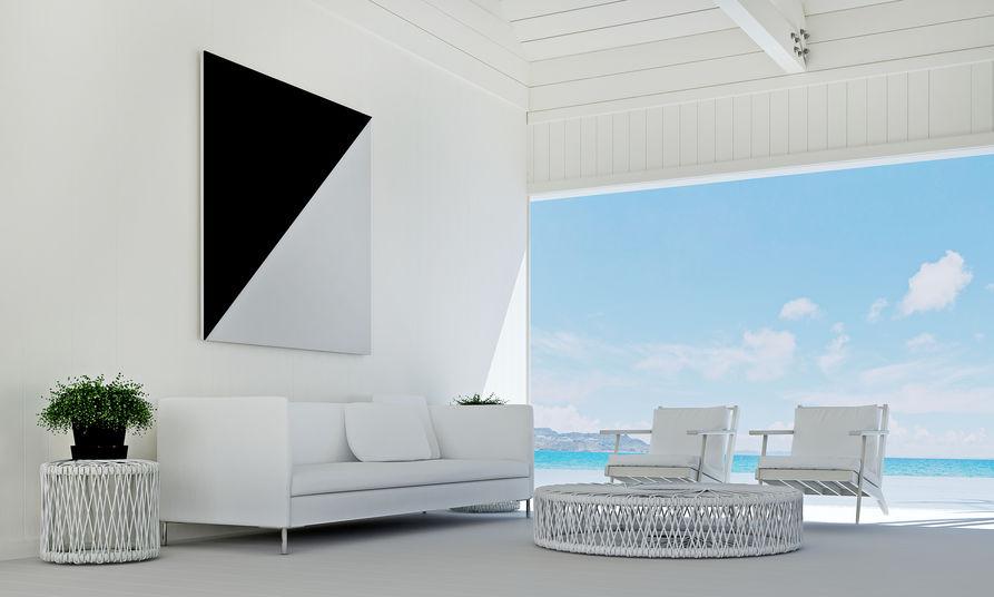 patio in stile minimalista