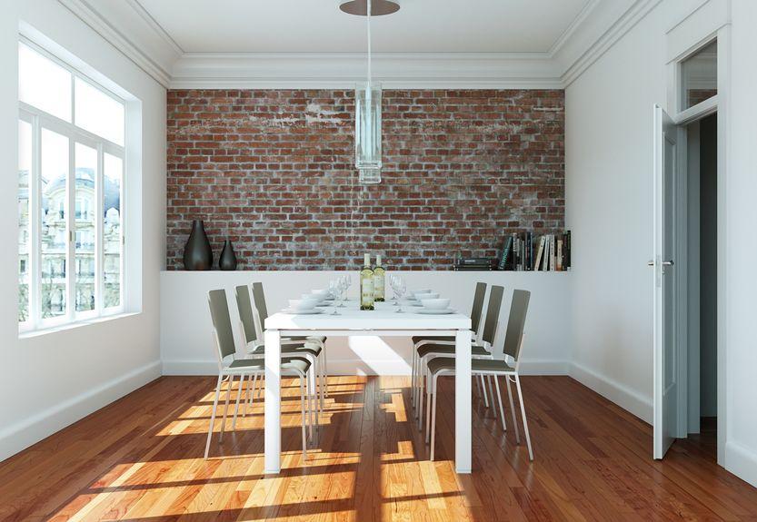 Sala da pranzo contemporanea e di stile
