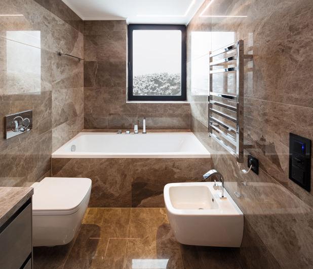 rivestimento bagno in marmo