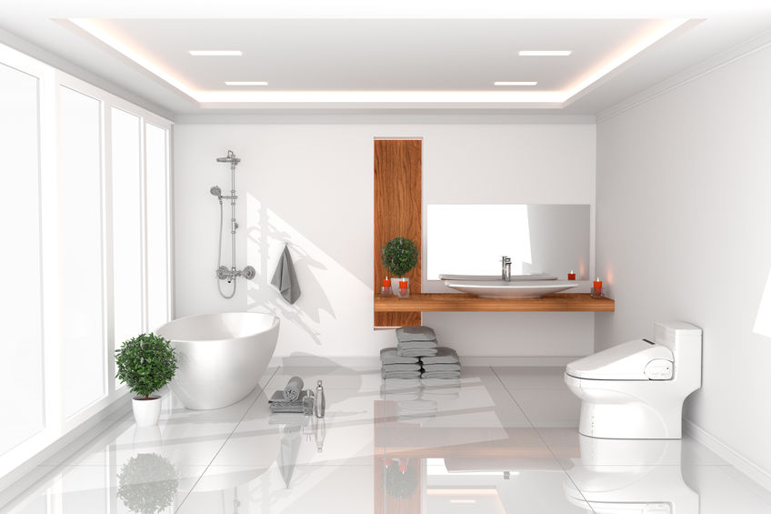 wc con bidet integrato