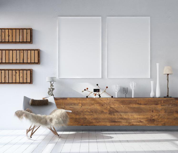 mobili realizzati con legno di recupero