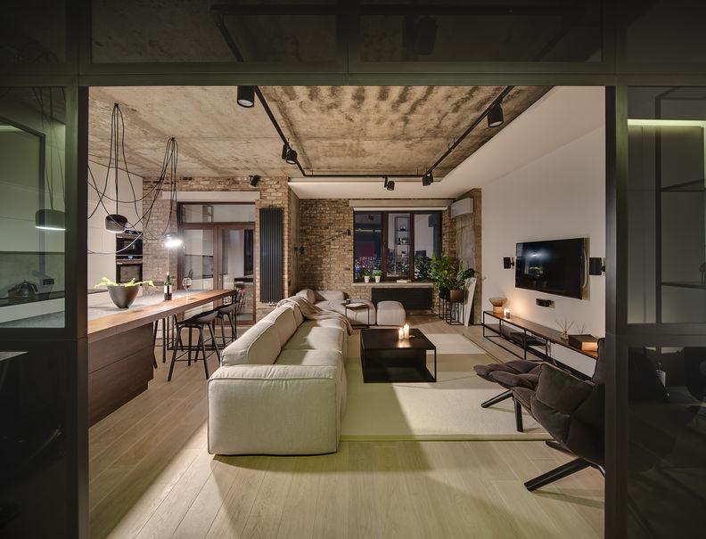 Meraviglioso e originale appartamento moderno-industrial