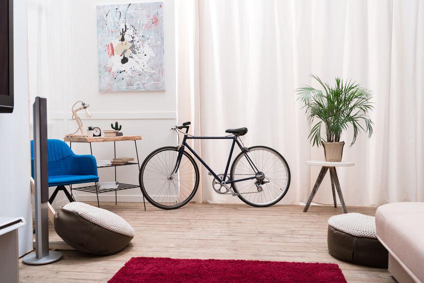 bicicletta in casa