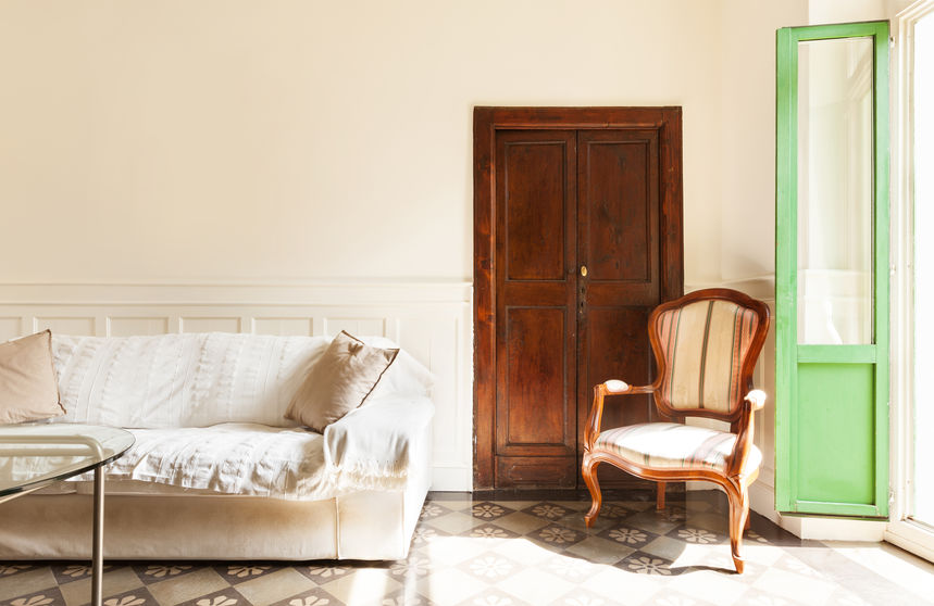 porte interne in legno massello