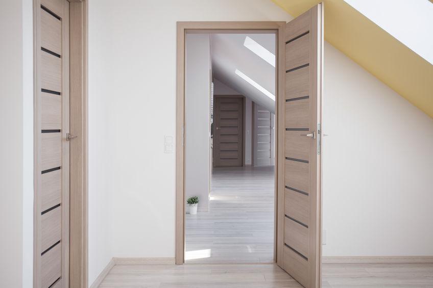 porte in legno listellare