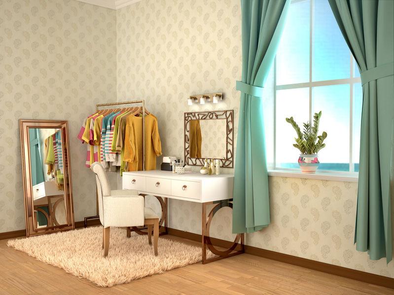 Spogliatoio e make-up room