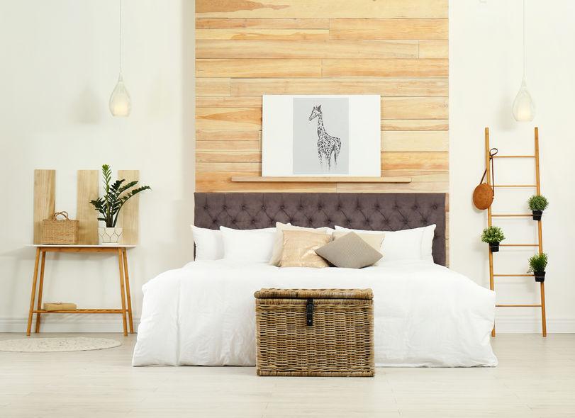 camera da letto naturale