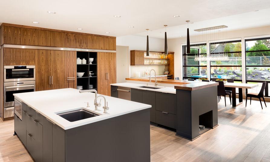 installare due lavandini in cucina