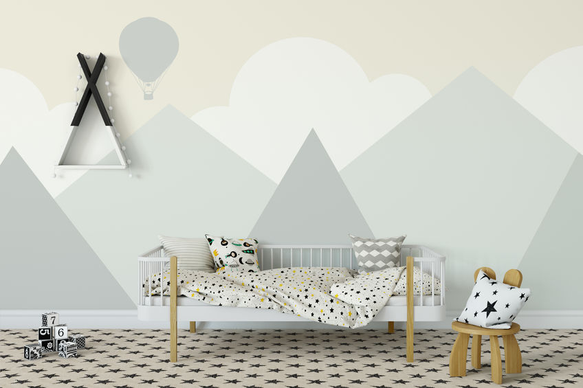 8 immagini su come decorare le pareti della cameretta dei bambini