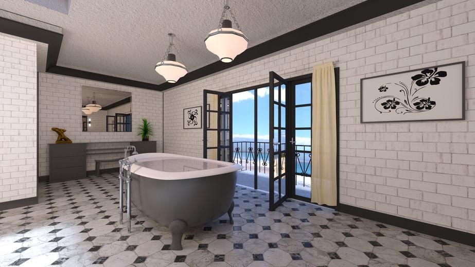 Pavimento per il bagno: 5 materiali che ispirano