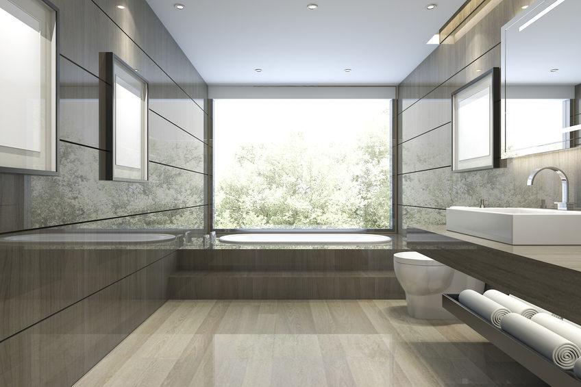 Pavimento per il bagno in marmo