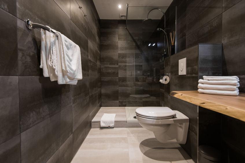 Pavimento per il bagno in gres