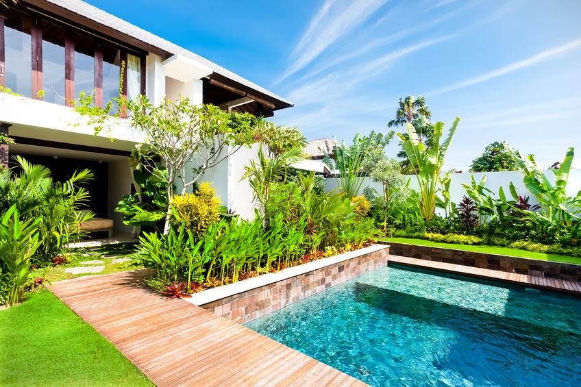 piante piscina