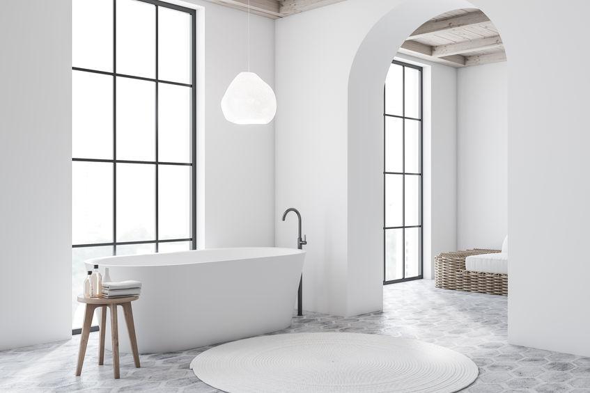 vasca da bagno minimal