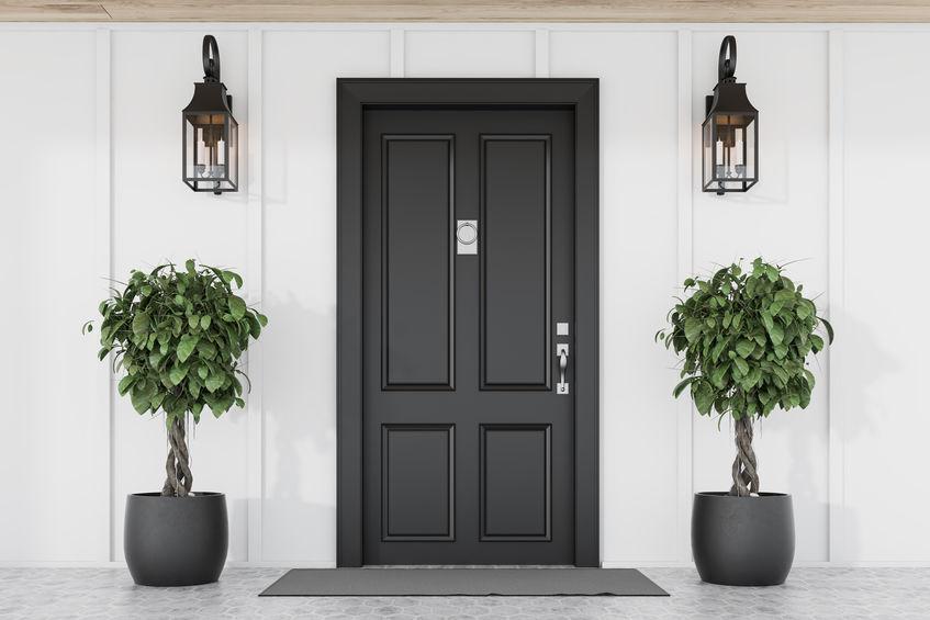 pannello esterno porta blindata