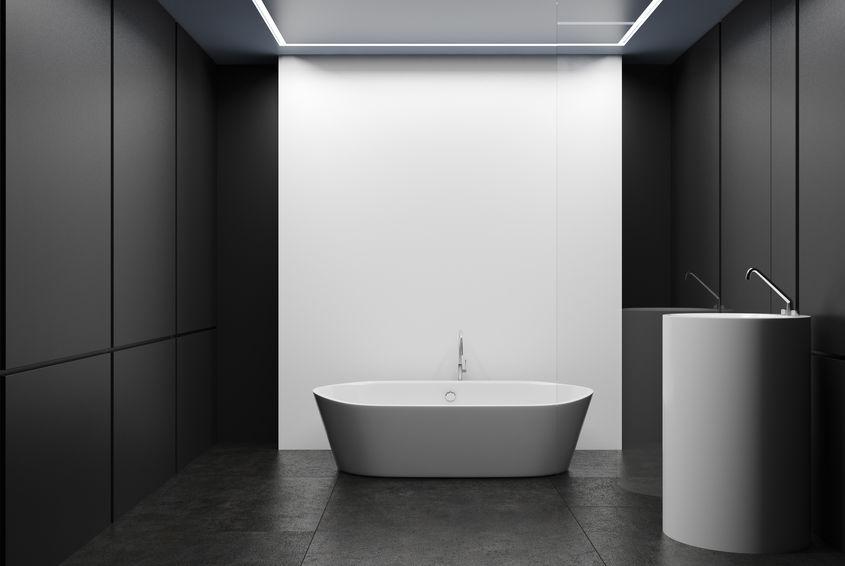 lavabo freestanding bianco