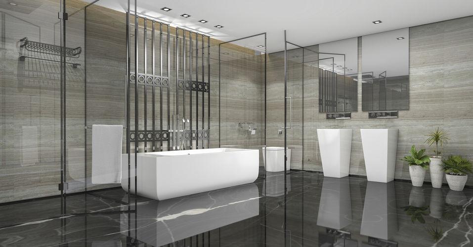 installazione lavabo freestanding