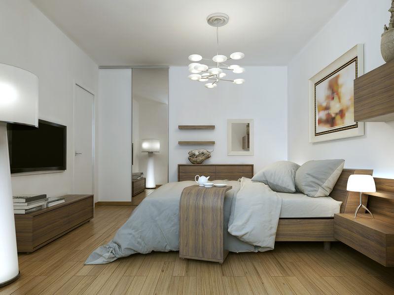 arredamento camera da letto in legno