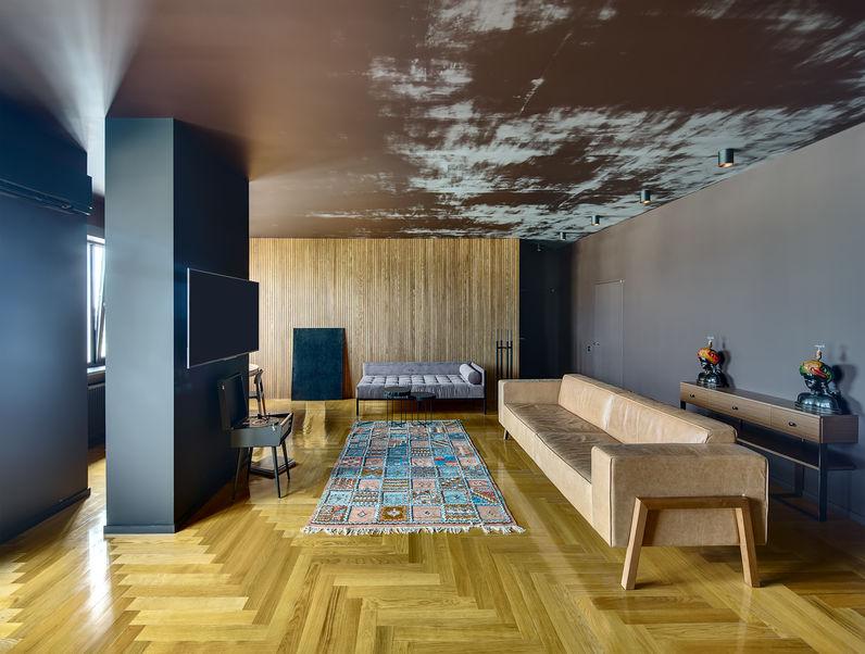 Una casa in stile eclettico: un progetto di puro design