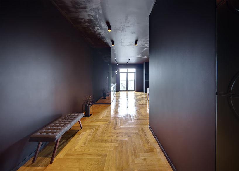 Meravigliosa idea progettuale per un appartamento di città