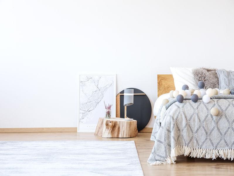 Camera da letto: accessori tessili per completare il look