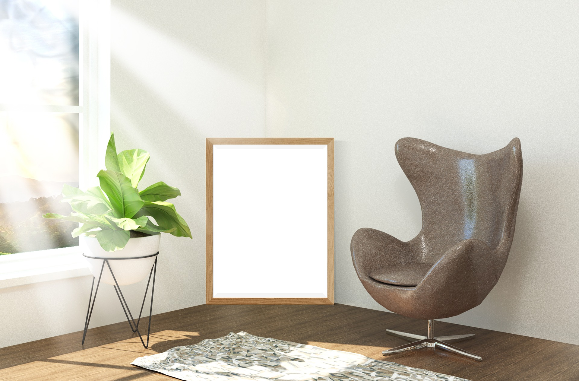 Arredare il soggiorno con una poltrona di design: Egg chair