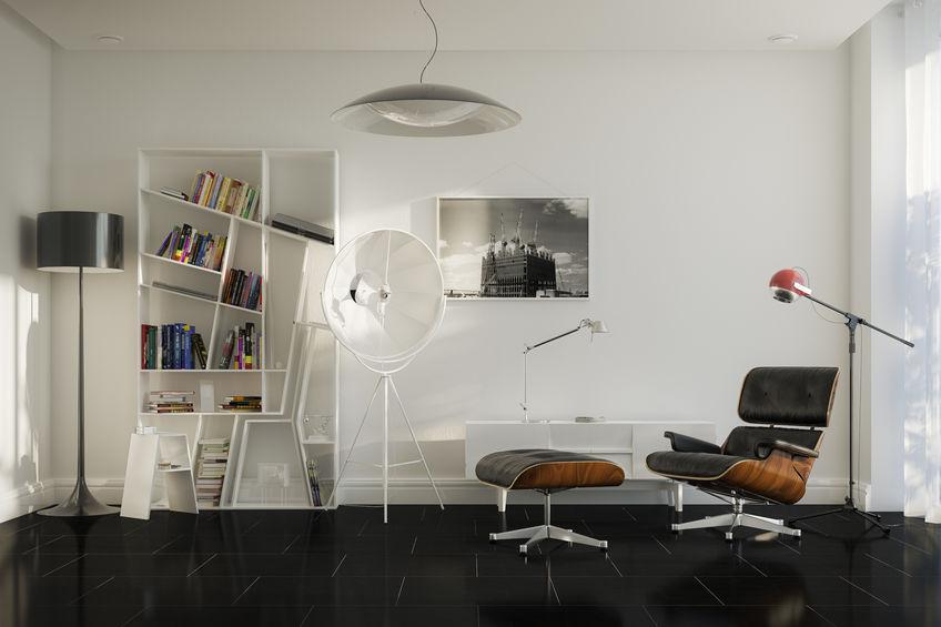 Arredare il soggiorno: Eames lounge chair