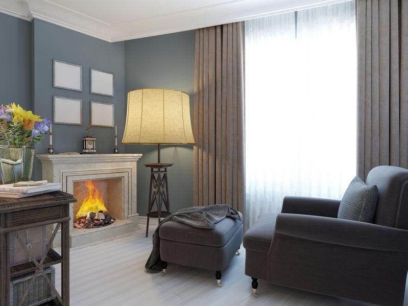 Arredare un living classico: accessori e illuminazione