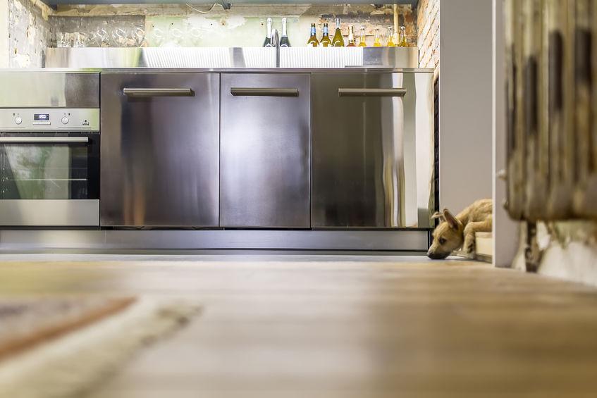 Cucina: piccola e organizzata