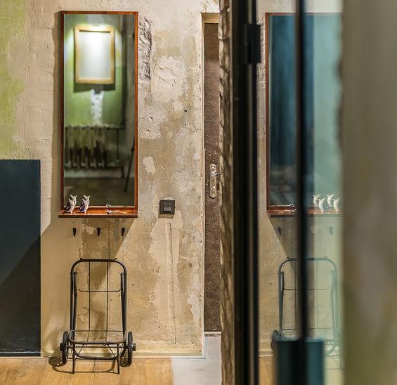 Loft: bagno contemporaneo e ricercato