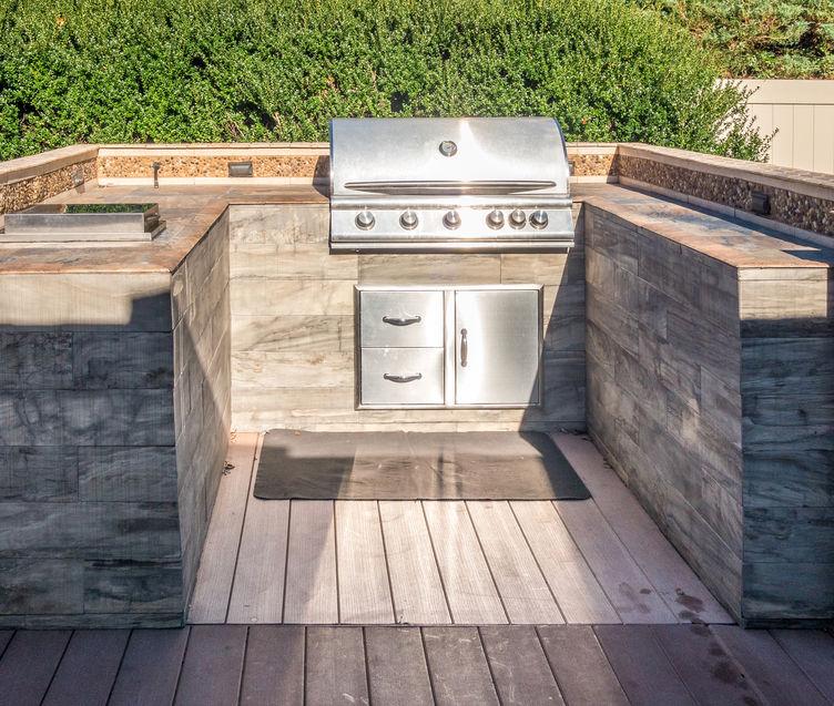 cucina a U outdoor
