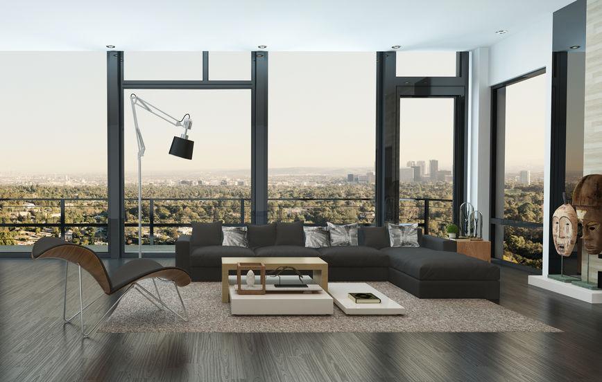 Lampada orientabile in soggiorno: modello da scrivania XXL