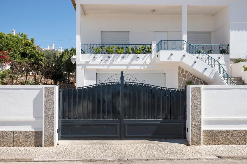 cancello in stile classico