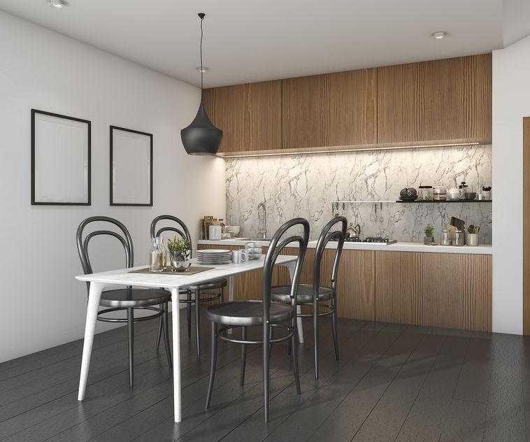 Cucina hi-design e low cost: minimalista scandinavo