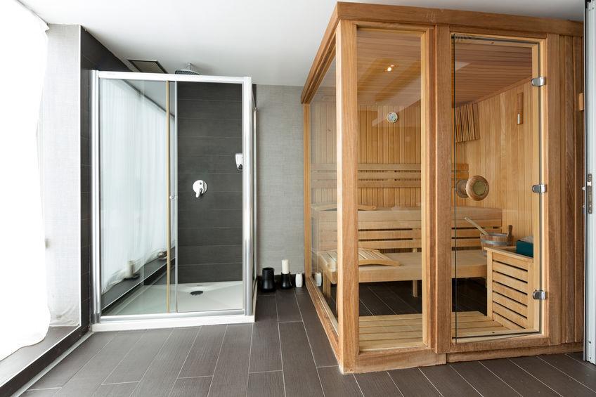 sauna prefabbricata