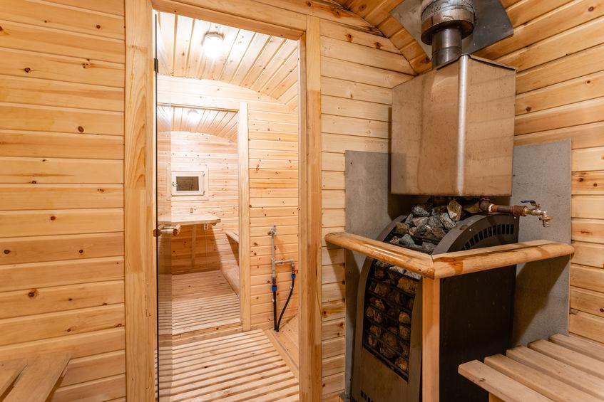 progettare sauna