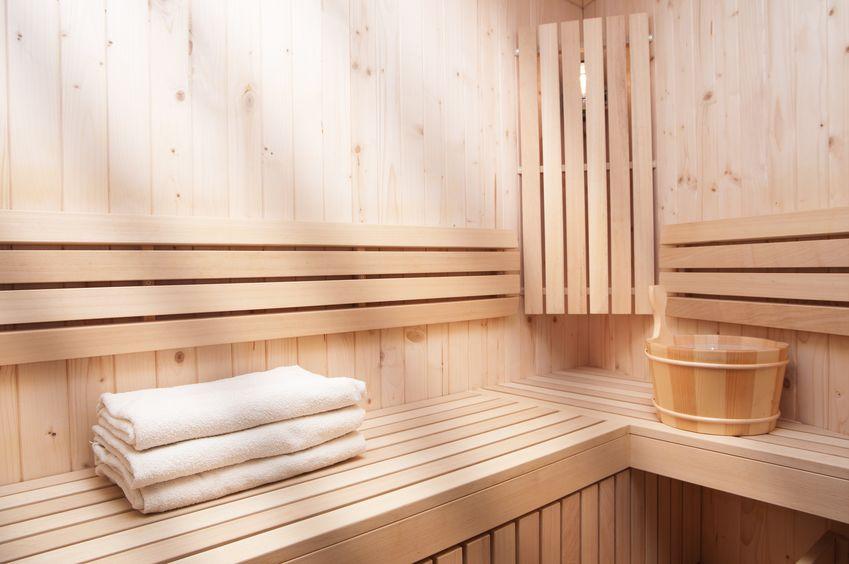 installare sauna