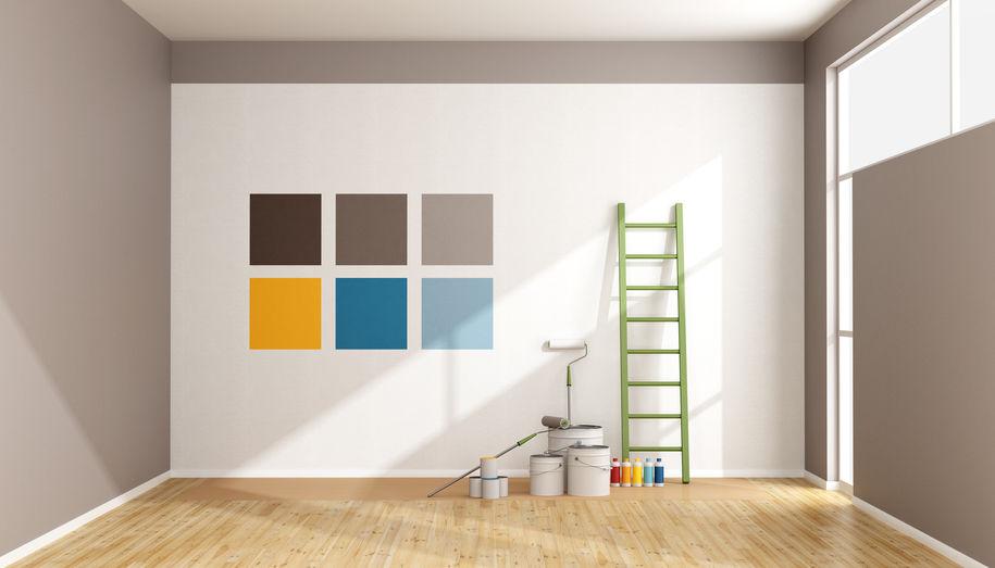prove colore tinteggiatura pareti