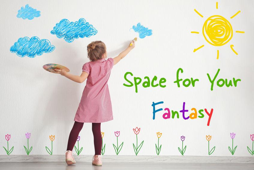 Cameretta bambini: pareti lavabili per dipingere